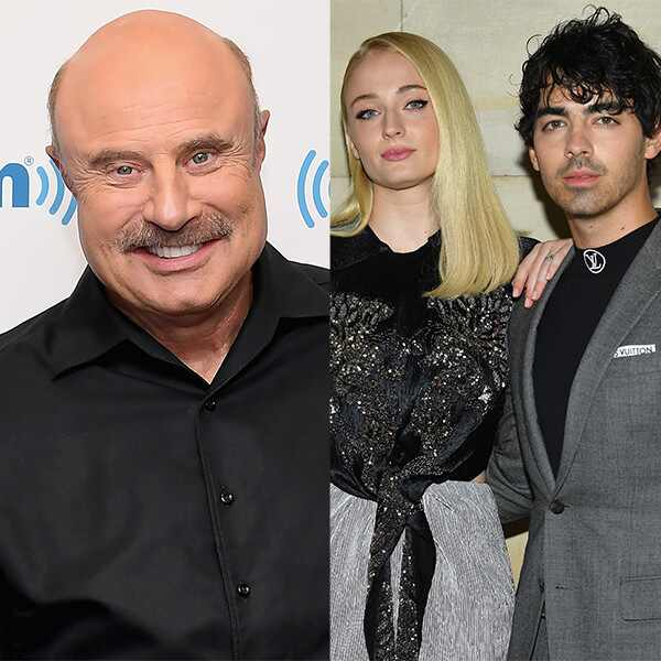 Dr. Phil, Sophie Turner, Joe Jonas